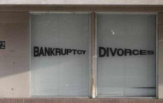 bankruptcy divorce